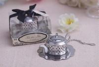 favores de la boda infusor de té al por mayor-Nueva llegada 50 unids / lote Favores de la boda