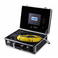 Wholesale Endoscope Dvr - 50M Cable DVR industrial endoscope underwater video system pipe wall inspection system Sewer Camera DVR waterproof pipe camera HD 700TVL