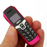 ingrosso il più piccolo bluetooth mobile-Nuovo T3 più piccolo più sottile mini telefono cellulare bluetooth 3.0 dialer Rubrica / SMS / musica sincronizzata FM telefono cellulare vocale magico