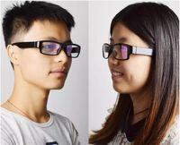 Wholesale Spy Glasses Record - 1080P HD Spy Camera Glasses Hidden Video Camera Recorder Mini Eyewear DV No Hole Audio Video Recording with Retail Box