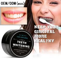 Wholesale 2017 Newest Type Teeth Whitening Powder For Tooth Cleaning Beautiful Smile Activated Origanic Charcoal Tooth Whitening Powder Free DHL