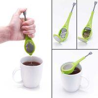 Wholesale Press Measure - Healthy Flavor Total Tea Infuser Gadget Measure Swirl Steep Stir And Press Food Grade PlasticTea&Coffee Strainer