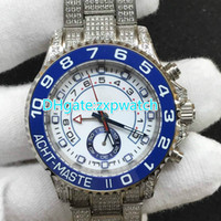 Men's case machinery - New diamond watch brand automatic machinery men s Y M watches all diamond watches stainless steel case high quality AAA MM