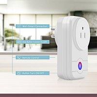 uzaktan kumandalı güç şeritleri toptan satış-Akıllı Wi-Fi Soket, Akıllı Ev Otomasyonu için ABD Plug Uzaktan Kumanda Güç Şeridi Zamanlama Anahtarı