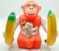 Wholesale music toys for year old resale online - 2016 free ship frozen Creative emitting electric toys somersault gorilla monkey music toys for children supply stall