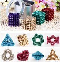 5mm 216 pz Neo Cube Magic Puzzle Metaballs Penna magnetica con scatola in metallo, Magnet Colorfull Magic Toys