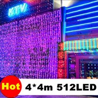 Party black snowman - 110V V M x M LED Outdoor Black Curtain Light Party Christmas Decoration String Wedding Hotel Festival