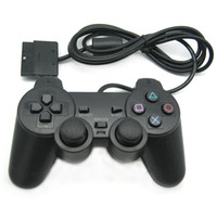 Wholesale Ps2 Joystick Controller - PlaySation 2 Wired Controller 1.8M Double Shock Remote joystick Gamepad Joypad for PS2 fast shipping