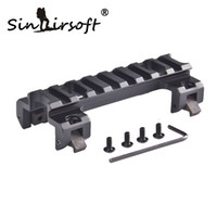 Wholesale Mp5 Tactical - Sinairsoft G3 MP5 Short 20mm Picatinny Rail Claw Mount Base For Riflescope Tactical Flashlight Red Dot Airsoft AEG Hunting