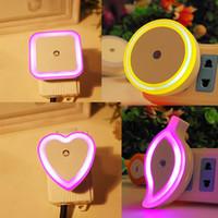 Wholesale Novelty Electronic Product - LED Energy saving light night light Novelty Creative Electronic products 4 colors retail package wedding decoration DHL free USZ135