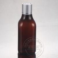 Wholesale Empty Shampoo - Wholesale- 30PCS-200ML Anodized Aluminum Press Screw Cap Bottle,Amber Plastic Cosmetic Container,Empty Serum Sub-bottling,Shampoo Bottle