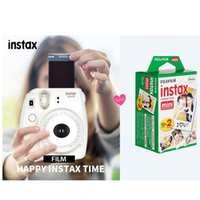 Wholesale Instax Camera Film - 20Pcs Box Instax Mini Film for Instant Camera Mini 8 7s 25 50s 90 White Edge 3 Inch Film Photo Paper DHL 1305043