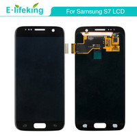 Wholesale samsung amoled for sale - Group buy Super Amoled LCD For Samsung S7 Display Touch Screen Digitizer Assembly Replacement with Free DHL Shipping Tested Best Quality