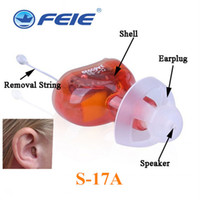 Wholesale Professional Hearing Aid - 8 Channels CIC Hearing Aid invisible Prevent Tinnitus Masker Professional Digital Hearing Amplifier CE FDA Approved Free shipping