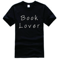 Wholesale Book Lovers - Book Lover Printed Tee Shirt Unisex Fashion Women Men Short Sleeve Cool Funny Shirt More Size And Colors