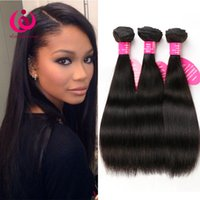 Peruvian Straight Hair Weave Bundles 5pcs / lot 8-26inch Wow Queen Hair Prdoducts Prix bon marché Soft & Thick Peruvian Virgin Hair Extensions
