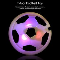 Wholesale Glide White - Novelty Toys Air Power Soccer Ball Suspension Football Colorful Disc Indoor Football Toy Multi-surface Hovering and Gliding Toy New Arrival