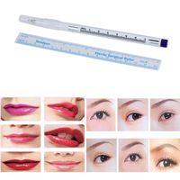 Wholesale Tool Skin Marker Pen Tattoo - Wholesale- New Women Pen:14cm;Ruler:15cm Surgical Skin Marker Pen Scribe Tool for Tattoo Piercing Permanent Makeup Anne