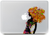 "Wholesale Macbook Pro Vinyl - 2017 New hot Originality Street-Painting series Vinyl Decal Colour Sticker Skin for Apple MacBook Pro Air 11""13""15"" Laptop Skins Sticker"
