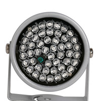 20-30m IR Night Vision 48 IR LED Iluminador infravermelho Light 850NM para câmeras de segurança CCTV Fill Lighting Metal Gray Dome