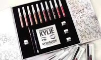 Kit per la raccolta di Big Box di Kylie Holiday Matte Kylie Jenner Liquid Collezione di Lipgloss Set di Kyshadow per il Natale