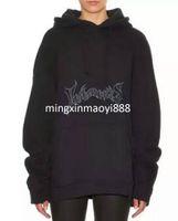 Wholesale Black Citi - vetement homme BIGBANG WEST RIHANNA hip hop man women clothing black fleee oversized hood hoodie citi trends clothes