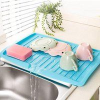 HOT Vanzlife Companion Dishes Sink Drain und Kunststoff Filter Platte Lagerung Rack Küche Regal Rack Drain Board TOP1680