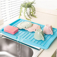 Vanzlife Companion Dishes Sink Drain und Plastik Filter Platte Lagerung Rack Küche Regal Rack Drain Board TOP1680