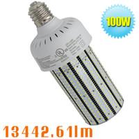 Wholesale Smd Lamps Socket - Free shipping 400W MH HPS led replacement E26 E27 E39 E40 lamp socket 100W LED corn bulb light retrofit