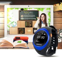 Wholesale Watch Gps Tracker Alarm - Wholesale- ZGPAX Smart Watch With SOS GPS Smartwatch S888 WIFI Anti Failing Alarm Tracker For Man Woman Kids Gift