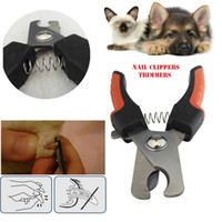 Wholesale Nail Care Box - pet dog cat large   medium nail clippers trimmers all dogs gripsoft claw stainless steel nail clippers nail care retail box DHL