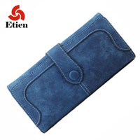 Wholesale Trend Notes Wholesale - Wholesale- Women purses for coins 2017 fashion personality dollar price money clip multicolor long section of women's wallets trend wallet
