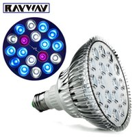 Wholesale Aquarium Bulb Square - Rayway E27 2UV 10Blue 6White LED Coral Reef Grow Light High Power Fish Tank bulb Lamp LED Aquarium Light