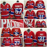 17136d3d0 Canadiens 31 Carey Price 67 Max Pacioretty 47 Alexander Radulov Brendan  Gallagher Alex Galchenyuk Shea Weber Andrew Shaw Ice Hockey Jerseys ...
