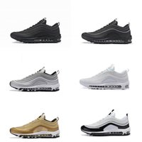 Wholesale Max Edition - With Box 97 Men Low Running Shoes Cushion Men OG Silver Gold Anniversary Edition Sneakers Man Maxes Sport Athletic Sports Trainers Shoes