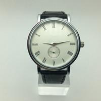 Wholesale Three Digital Watch - Classic PP men brand quartz AAA watch top quality luxury fashion roman digital small three needle men dress watch gift male clocks Relojes