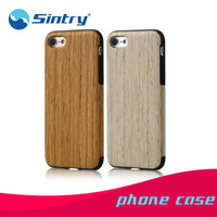 Wholesale Tpu Smartphone Case - cherry tpu soft bamboo maple real wood cell phone back case cover for smartphone ,wooden phone case for iphone 7 6 6s plus