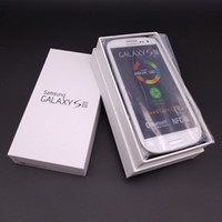 сотовые телефоны gsm оптовых-Оригинал Samsung Galaxy S3 i9300 GSM 3G четырехъядерный 16GB хранения 4,8-дюймовый 8MP камера отремонтированы разблокированные сотовые телефоны