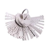 anahtar aletleri anahtarcı toptan satış-KLOM Warded Pick Set (40 Keys) Ward Kilit Tuşları Warded Lock İskelet Anahtar Anahtarlı Anahtarlar Profesyonel Çilingirler için Araçlar Kilidini