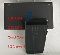 Wholesale Fast Random - Unlocked Goophone s8 Edge Cell Phones 5.5 Inch 1GB RAM 8GB ROM Smartphone Sealed Phone Fast Delivery DHL