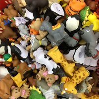 Wholesale Little People Animals - Random Pick 15PCS Fisher Price Little People Zoo Farm Animals (No Sound ) Rabbit Duck Tiger Figure Gift HA514
