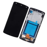 Wholesale nexus display frame for sale - Group buy Black For LG Google Nexus D820 D821 Touch Screen Digitizer LCD Display With Frame Full Assembly Cellphone Original Screen Replacement
