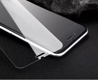 Wholesale Tempered Glass For Mobiles - hight quatily HD 0.26mm glass film from scratch for iphone6 mobile phone screen protection film