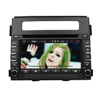 Wholesale Soul Bluetooth - Fit for kia soul 2011-2013 Android 5.1.1 system hd car dvd player gps navigation radio 3G wifi bluetooth dvr obd2