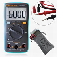Wholesale Electrical Digital Meter - Professional Digital Multimeter 6000 Counts Backlight AC DC Ammeter Voltmeter Resistance Current Ohm Portable Meter