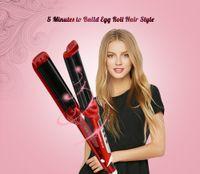 rizador de hierro tres al por mayor-Ceramic LED Digital Tres-tubo Curling Iron Hair Curler Cuidado del cabello Styling Curling Iron Hair Treament Styler Tratamiento de cuidado del hierro en frío B