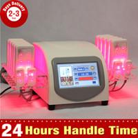 Wholesale Cold Laser Equipment - 635-650nm 5mw Lipo Laser LLLT Lipo Low Laser Diode Cold Laser Body Slimming Fat Burner Equipment