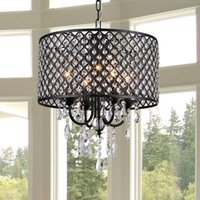 Wholesale Cottage Ceiling Lights - Nordic American crystal chandelier rustic crystal chandelier Ceiling Lighting Modern chandeliers Living room, dining room, bedroom light