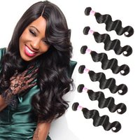 Wholesale best brazilian hair sale resale online - Machine Double Weft Hair Extensions Mix Inches Mink Brazilian Remy Hair Body Wave Virgin Human Hair Weaves Best Selling Items Big Hot Sales