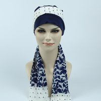 Wholesale Chemo Hair Fashion - Cotton jersey Beanie Hats,Chemo bandana scarf, Alopecia Modest headcover Hat for undergoing CHEMO scalp hair lossan
